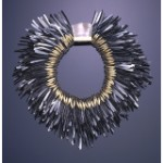 Tone Vigelund metal feathers necklace
