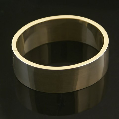 Hingelberg gold bangle 9 carat gold