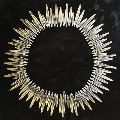 Anton Michelsen modernist silver necklace