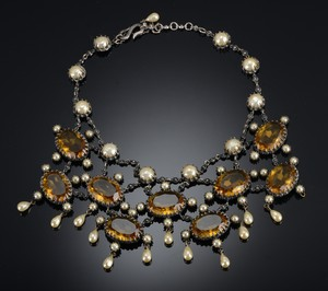 1950's Mitchell Maer dior necklace