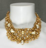 Chanel pearl necklace by Goosens