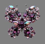 Cristobal butterfly brooch