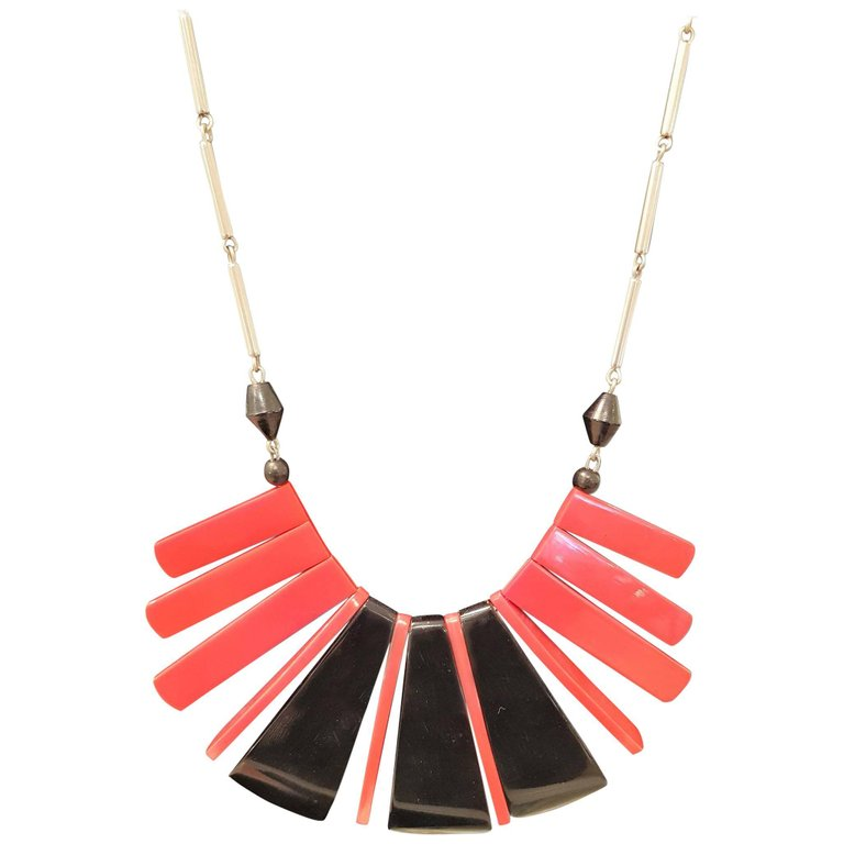 Jakon Bengel red necklace
